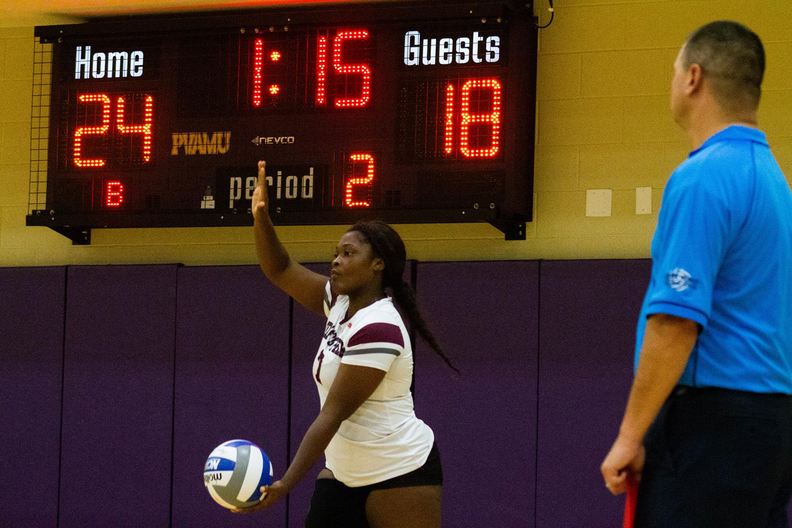 Volleyball To Face McNeese State Tonight In Lake Charles