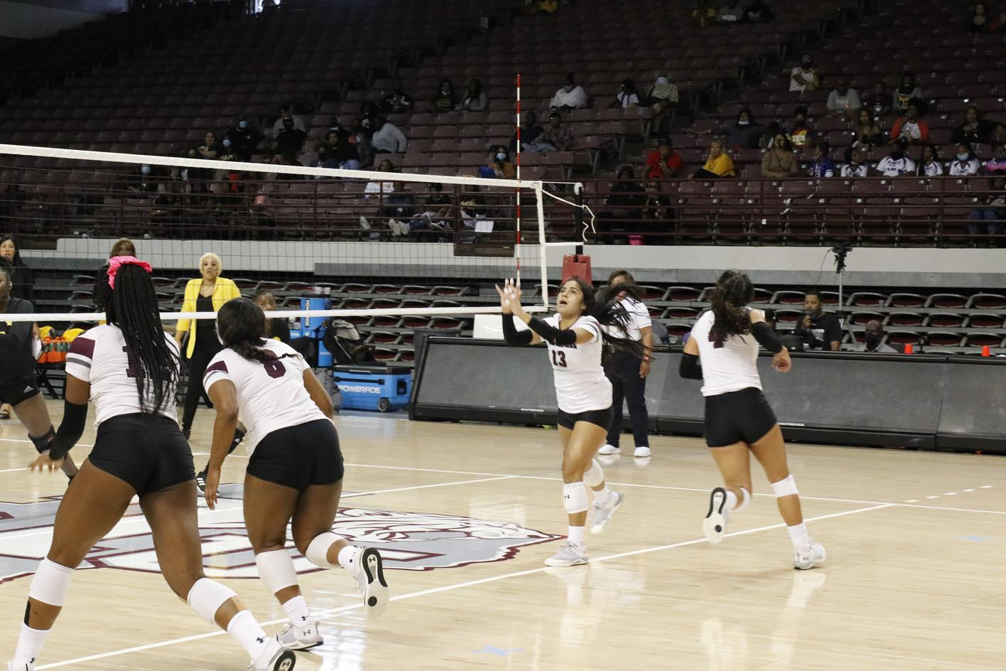 Volleyball Drops Home Decision To UAPB