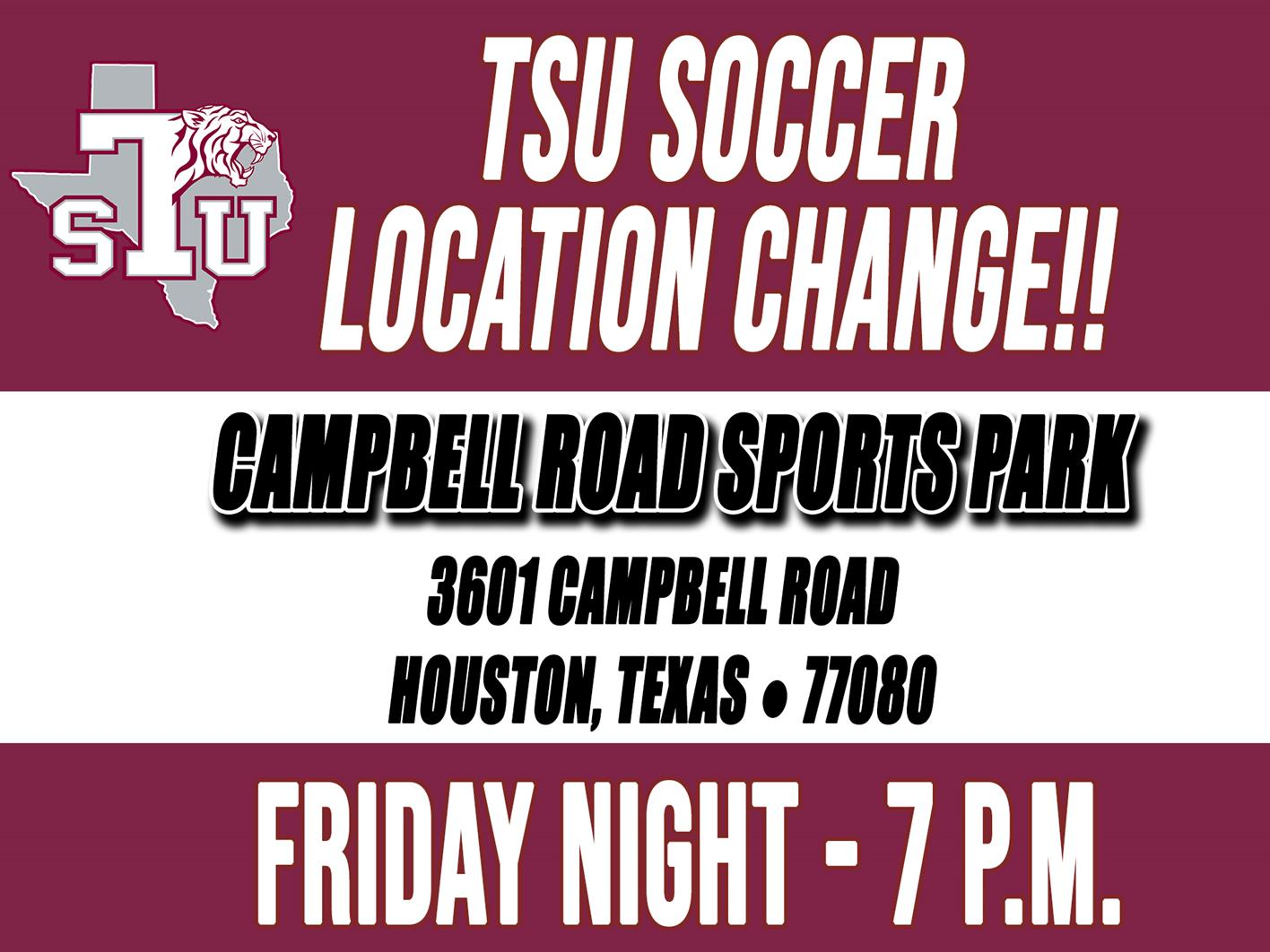 Soccer To Face Alcorn State Friday Night At Campbell Road Sports Park
