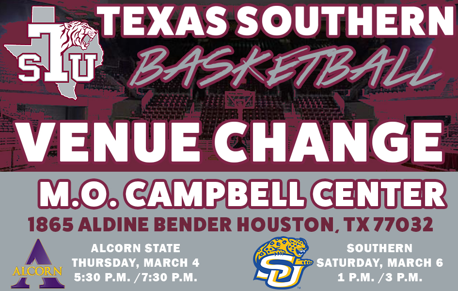 Thursday/Saturday Basketball Games Moved To The M.O. Campbell Center