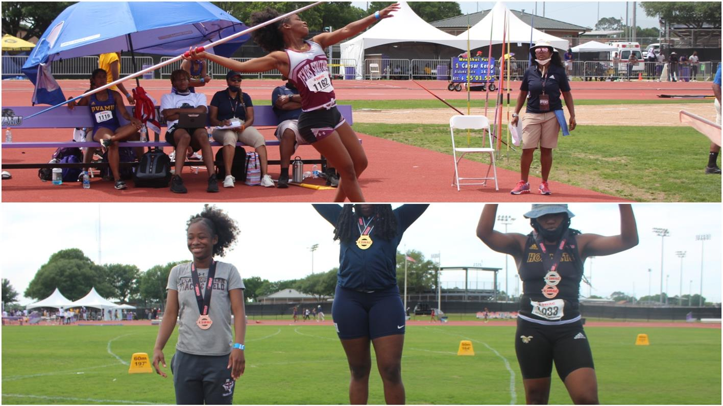 Smith Places 3rd In Javelin, Perkins Achieves Another Career-Best Mark In Discus During Finale Of SWAC Championships