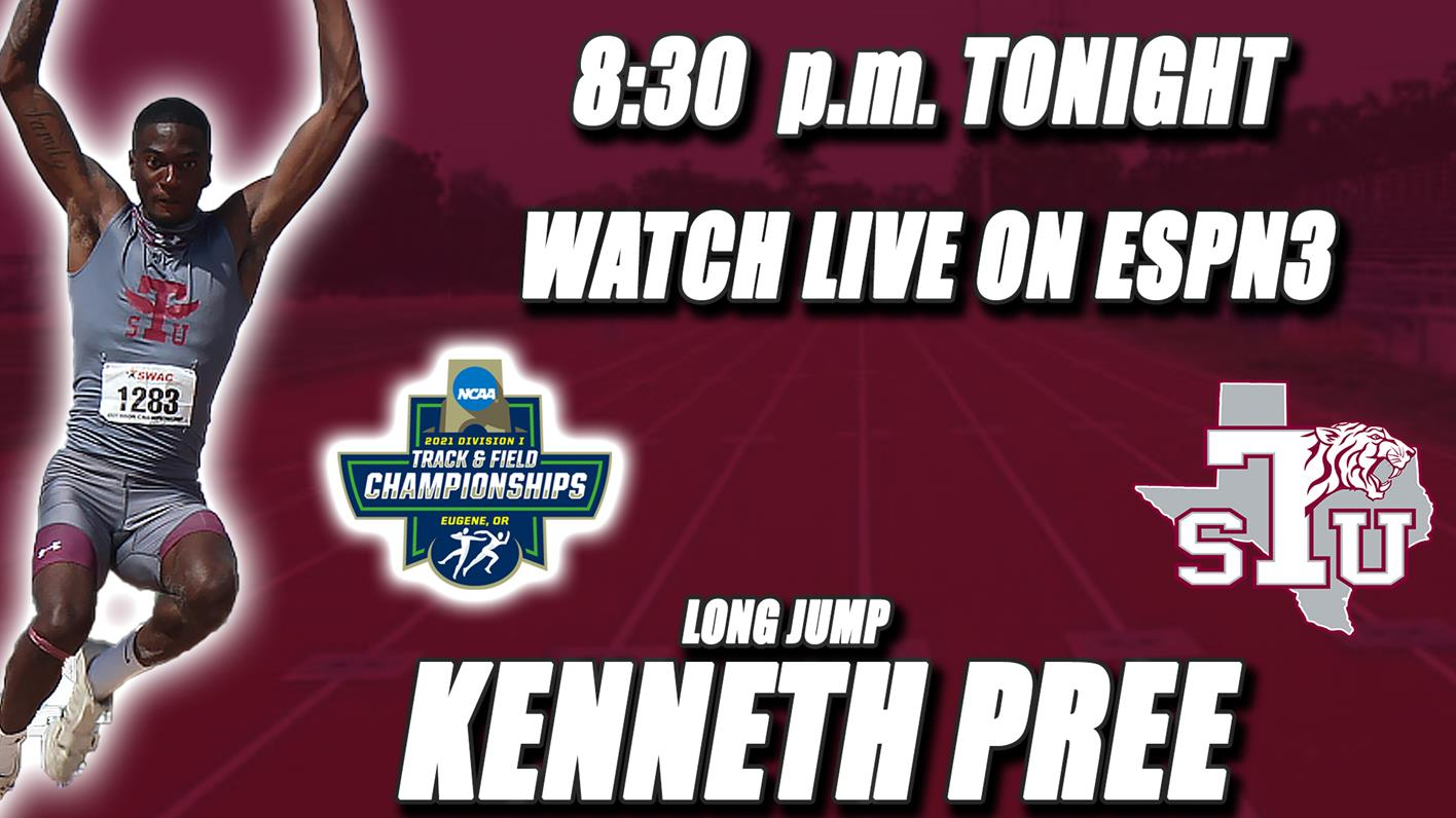 Pree To Compete In NCAA National Championship At 8:30 p.m. Tonight On ESPN3