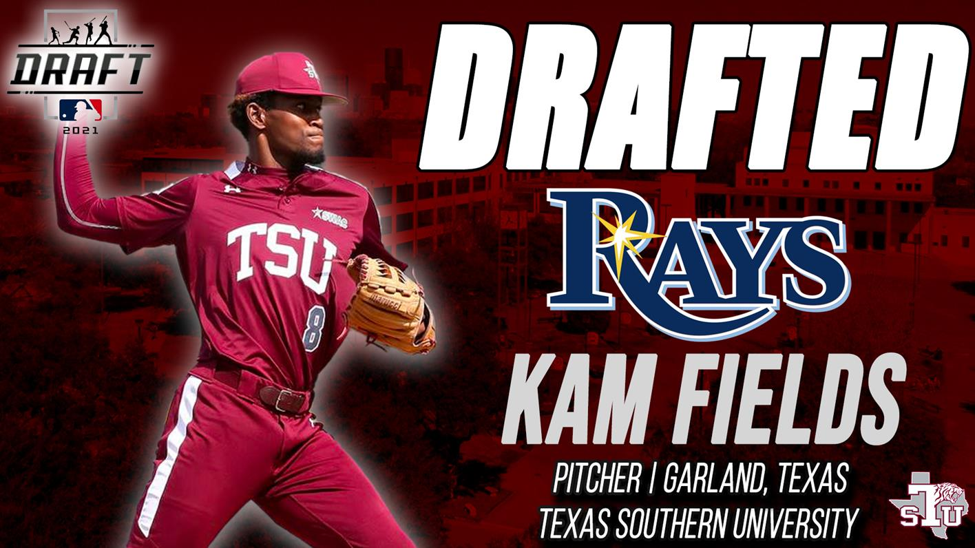 <div>Baseball's Kam Fields Drafted By Tampa Bay Rays</div>