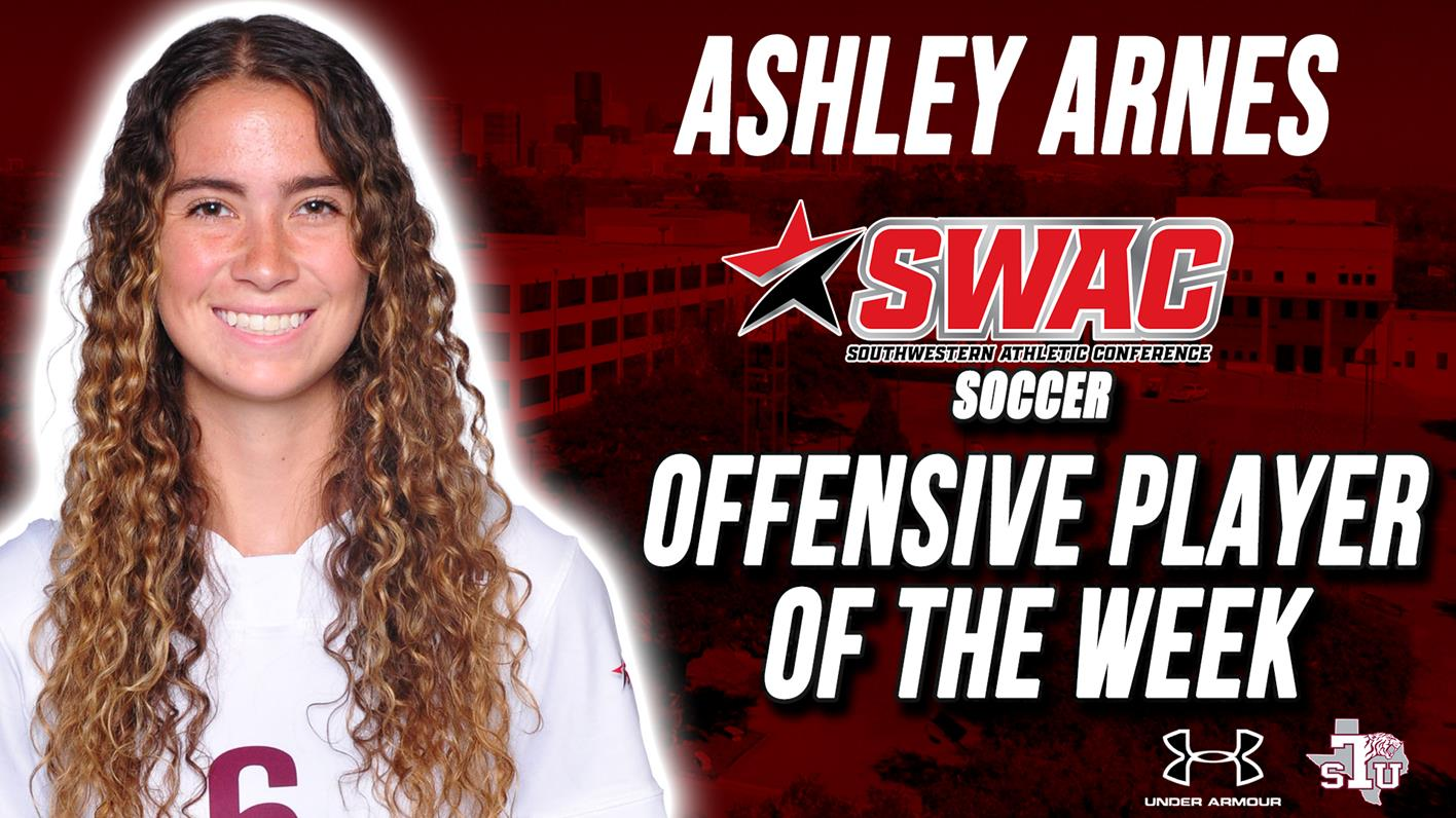 Arnes Named SWAC Soccer Offensive Player Of The Week
